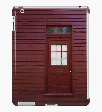 Red Door iPad Case/Skin