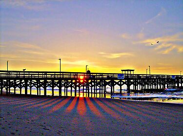 Easter Sunrise in HDR by Dawne Dunton