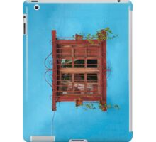 Red window blues iPad Case/Skin