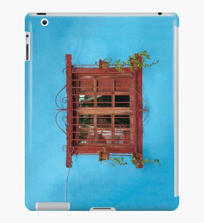 Red window blues iPad Case/Skin