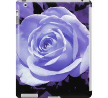purple rose flower i pad case iPad Case/Skin
