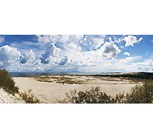 Seascape panorama Photographic Print
