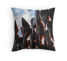 The Olympic Flame Throw Pillow
