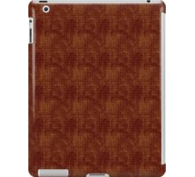 Grungy Red and Gold Floral Pattern iPad Case/Skin