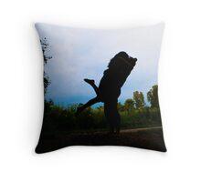Shadow Deep Throw Pillow