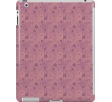 Grungy Pink Hearts and Flowers iPad Case/Skin