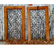 Twin Frames Photographic Print