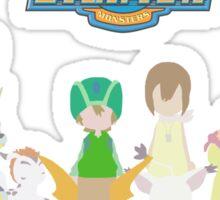 Digidestined prepared to fight (Digimon Adventure) Sticker