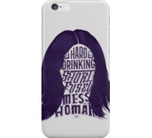Mess of A Woman iPhone Case/Skin
