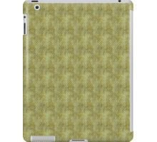 Grungy Green Scallops iPad Case/Skin