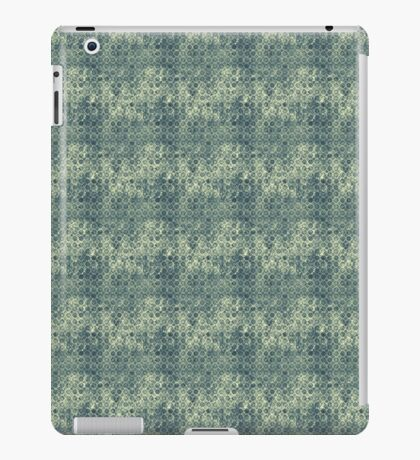 Grungy Green Circles iPad Case/Skin