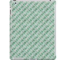 Grungy Green Angular Shapes iPad Case/Skin