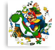 Super Mario World Planet. Canvas Print