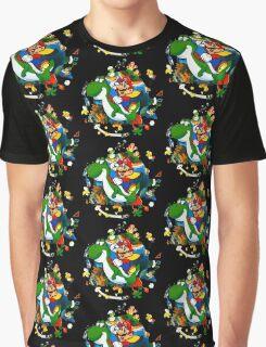 Super Mario World Planet. Graphic T-Shirt
