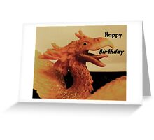 The Dragon Greeting Card
