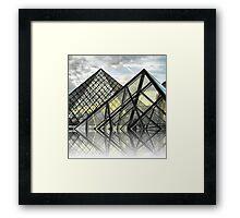 Louvre Utopia Framed Print