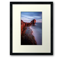Pulpit Rock Framed Print