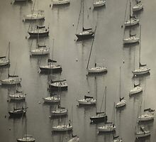 Boats in Waiting by swaby