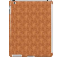 Grunge Yellow and Red Scallops iPad Case/Skin