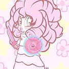 Weeny Gems- Rose Quartz by LillyKitten