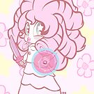 Weeny Gems- Rose Quartz by LillyKitten