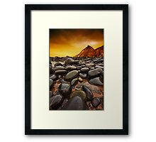 Troublesome Sky Framed Print