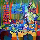 The lily pond, Caldas de Monchique by Liz Allen