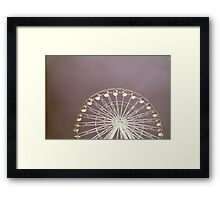FILM WHEEL Framed Print