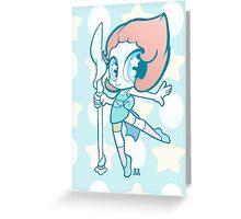 Weeny Gems- Pearl Greeting Card