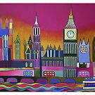 Big Ben and Westminster, London by Liz Allen