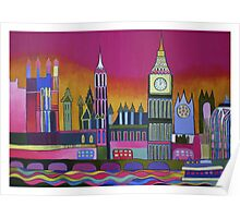 Big Ben and Westminster, London Poster