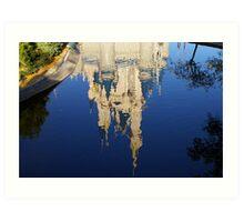 Royal Reflections Art Print