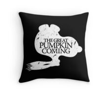 Game of Peanuts Throw Pillow