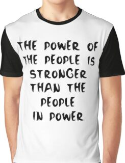 Power to the People Graphic T-Shirt