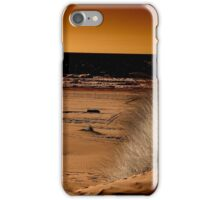 Beach in Infrared iPhone Case/Skin