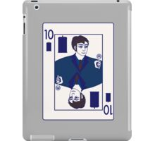 Ten of Tardis - Dark Blue iPad Case/Skin