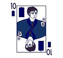 Ten of Tardis - Dark Blue Photographic Print