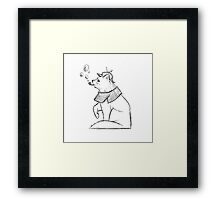 The Greatest Feline Detective Framed Print