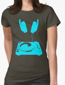 dj aqua Womens Fitted T-Shirt