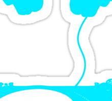 dj aqua Sticker