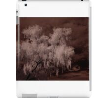 Weeping Willow In Infrared iPad Case/Skin