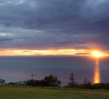 Tangalooma at Sunset by Aamie