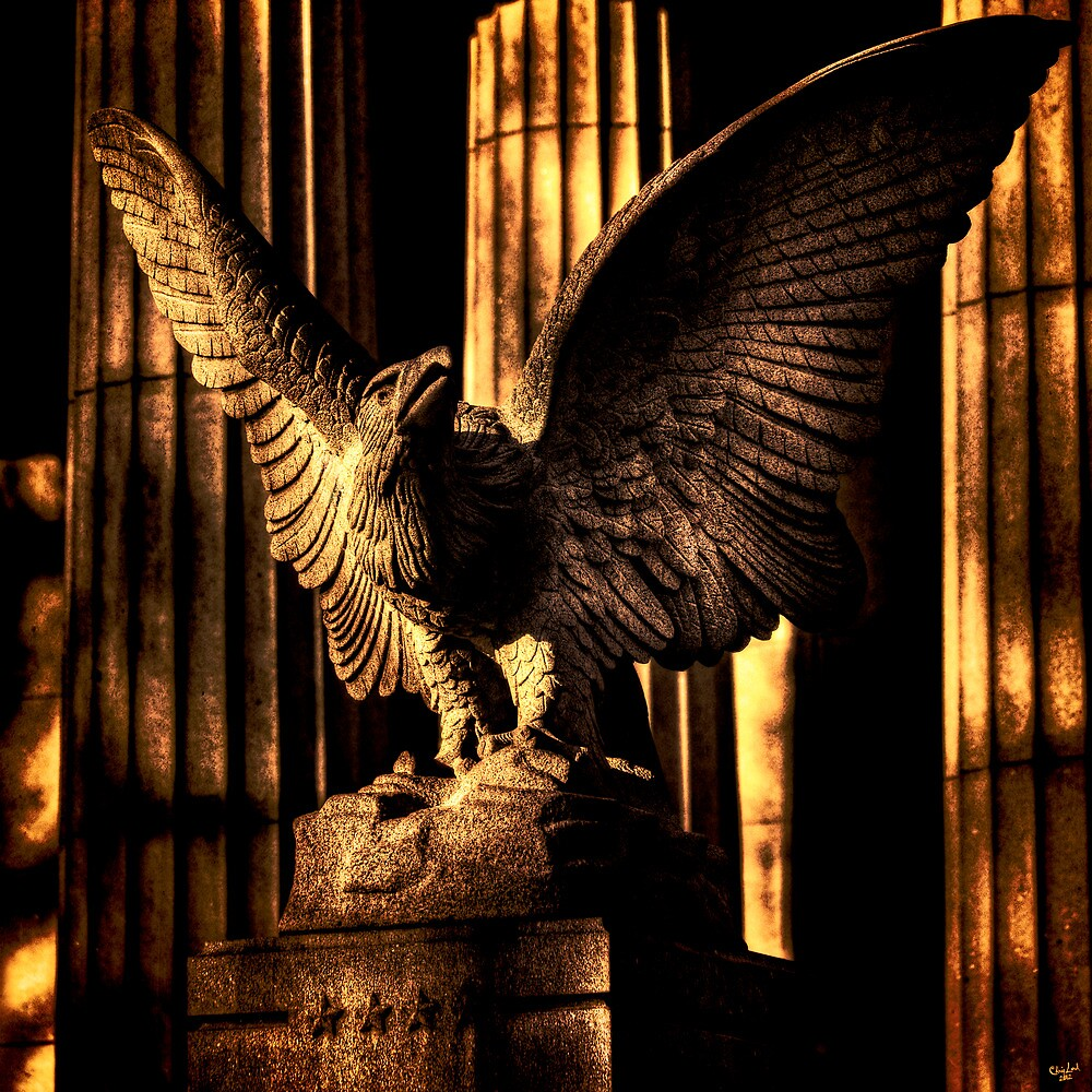 Eagle Detail, Grant's Tomb by Chris Lord