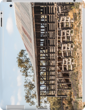Kinchega Woolshed by Candice O'Neill