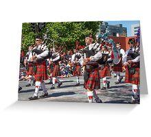 Royal Caledonian Band Greeting Card
