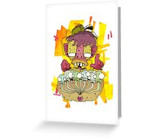 Mind Control Greeting Card