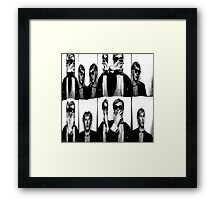 Andy Warhol 3. Framed Print