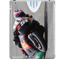 Michel Pirro in Jerez 2012 iPad Case/Skin