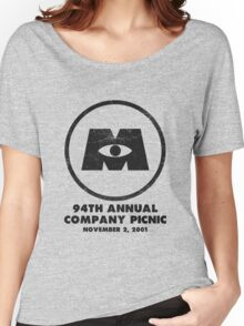 Monsters, Inc Company Picnic Light Women's Relaxed Fit T-Shirt