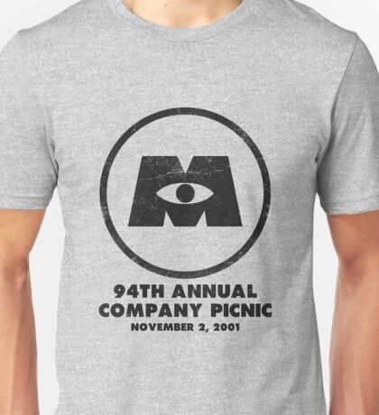 Monsters, Inc Company Picnic Light Unisex T-Shirt
